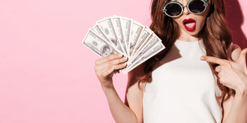 Girl money find paying clients